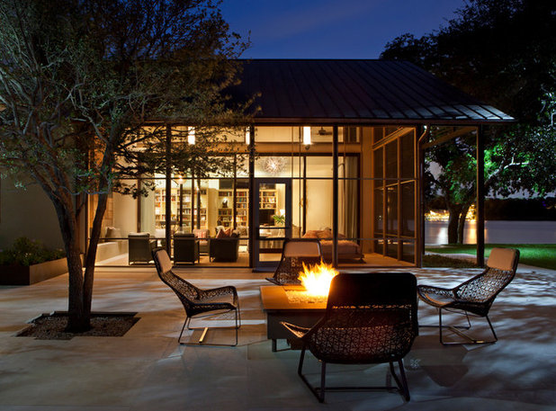 Contemporary Patio by Furman + Keil Architects