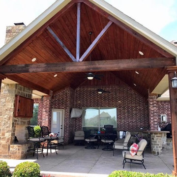 Covered Patio and Exterior Painting
