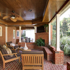 Traditional Patio by Arbor Construction Group LLC