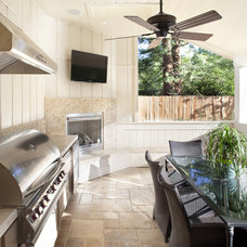 Beach Style Patio by Arch Studio, Inc.