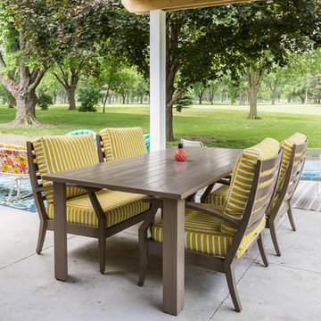 Covered Patio, Midwest Simplicity