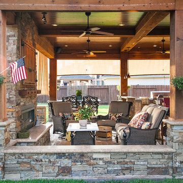 Covered Patio, Outdoor Kitchen: Katy, TX