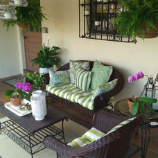 Traditional Patio by FOCAL POINT STYLING