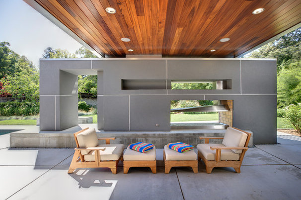 Modern Patio by Dave Adams Photography