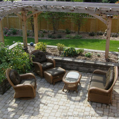 traditional patio by Switzer's Nursery & Landscaping, Inc.
