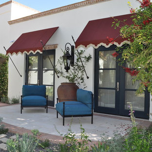 Tuscan patio photo in Phoenix with no cover