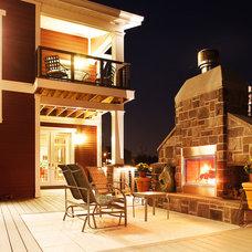 Craftsman Patio by studio26 homes