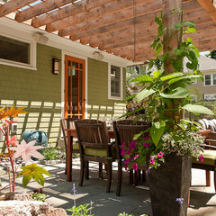 eclectic patio by Juniper River Home Design