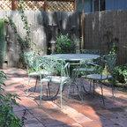 Backyard Retreat In Town Atlanta Craftsman Patio
