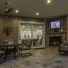 Craftsman Patio by TriplePoint Design Build