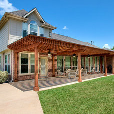 Traditional Patio by Brickhouse Construction, LLC