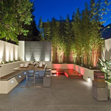 contemporary patio by C.O.S Design