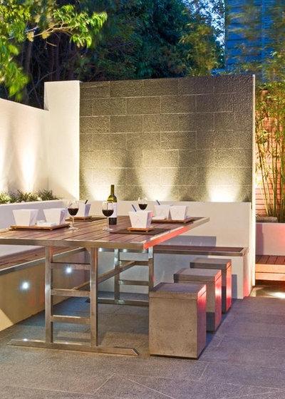 Modern Patio by C.O.S Design