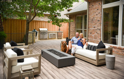Patio of the Week: Raised Deck for Enjoying a Tranquil Creek
