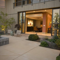 Contemporary Patio by SRM Architecture and Interiors