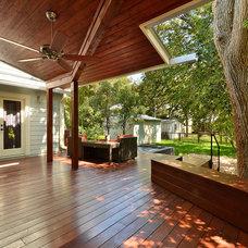 Modern Patio by GreenTex Builders LLC