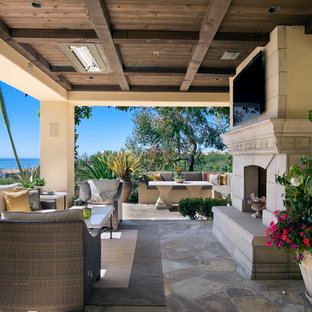 Crystal Cove Loggia during the day