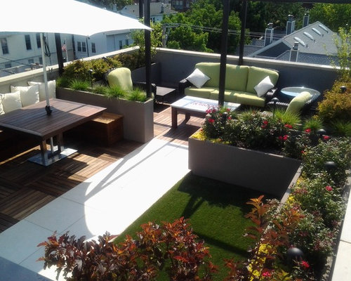 Rooftop planters home design ideas pictures remodel and - Decoracion roof garden ...