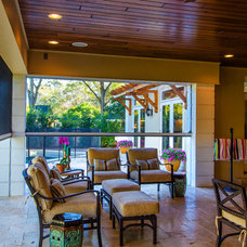 Traditional Patio by Sunset Properties of Tampa Bay