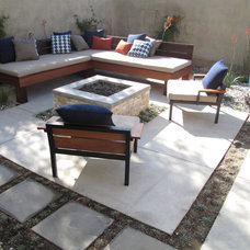 Modern Patio by Foundation Landscape Design