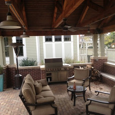 Traditional Patio by Cobalt Construction