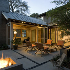 contemporary patio by Arcanum Architecture