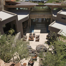 Southwestern Patio by Swaback Partners, pllc