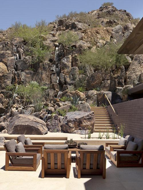 Patio Southwestern Backyard Idea In Phoenix