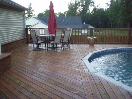 Traditional Patio by M.E.M. Remodeling & More