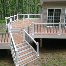 Traditional Patio by Creative Deck Designs