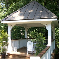 Traditional Patio by Rex Evans Construction
