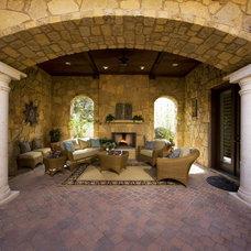 Mediterranean Patio by Premier Partners Homes - Austin's Premier Builder