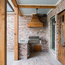 Traditional Patio by Blue Heron Homes