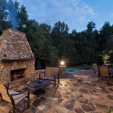Contemporary Patio by Jim Schmid Photography