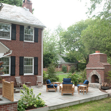 Custom Outdoor Kitchen, Fireplace and Dining