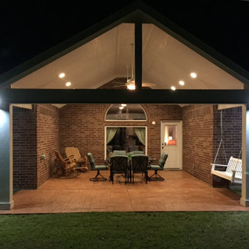 Custom Patio Cover of the month, Humble, TX-April 2015