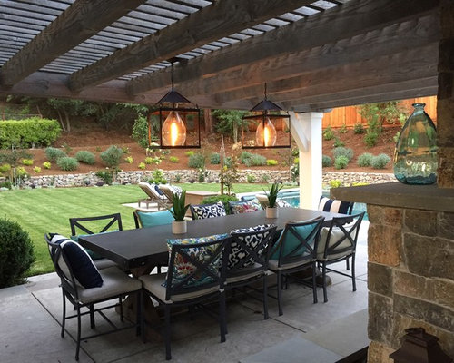 Good Custom Pendant Lantern For Outdoor Living Space In Northern California