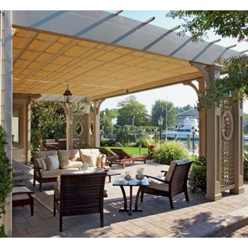 Custom Pergola Room with a View Detail 2