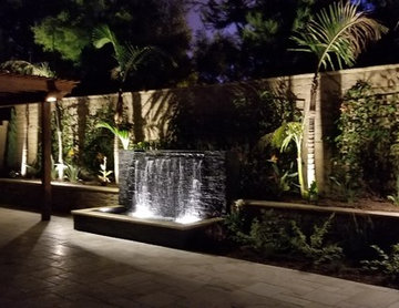 Custom Water Feature in Irvine, CA