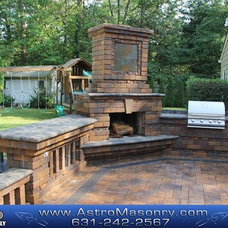 Contemporary Grills by Astro Masonry