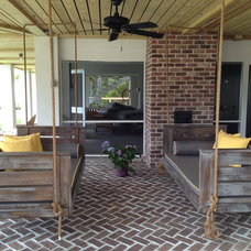 Beach Style Patio by Vintage Porch Swings LLC