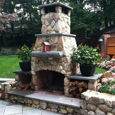 Traditional Patio by CustomWorks Contracting, LLC