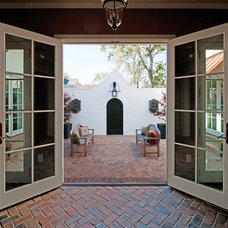 Traditional Patio by P. Shea Design