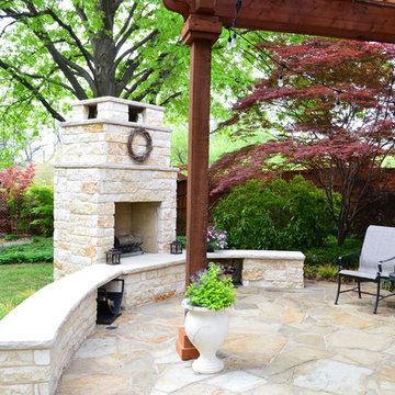 Dallas Covered Patio With Outdoor Fireplace and More!