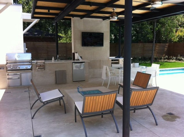 Modern Patio by Pool Environments, Inc.