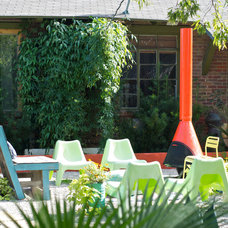 Eclectic Patio by Hilary Walker