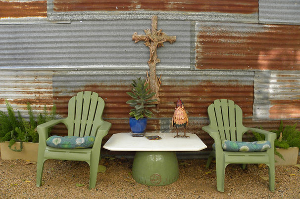 Industrial Patio by Sarah Greenman