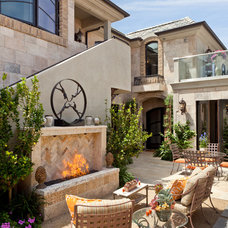Mediterranean Patio by Neolithic Design LA