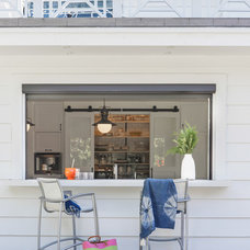 Transitional Patio by Von Fitz Design