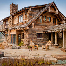 Rustic Patio by Yellowstone Traditions